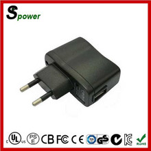 Rohs CE Approved 10W 5V 2A EU Travel USB Charger