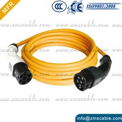 EV Electric Car Type 2 - Type 1 Charging Cord