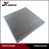 air cooled plate &bar aluminum oil cooler core with high heat transfer
