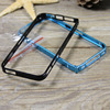 High quality detachable ultrathin aluminum screw metal bumper case for iPhone 5 5s