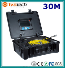 7'' Monitor With SD Card Recording Digital Inspection Camera System, Sewer Inspection Camera With 20-40M Cable And Meter Counter