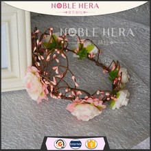 2015 new arrival extract of crown of thorns daisy flower crown headband ring crown shape