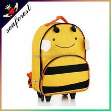 animal children's cartoon characters luggage/school backpack