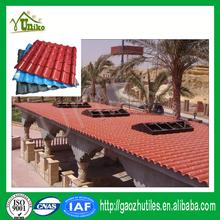 weather resistant durable fireproof lightweight plastic concrete roof tiles