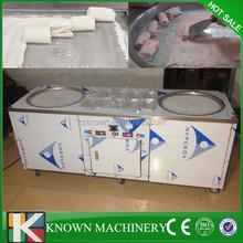 Hot sale KN-2+10 fried ice cream roll machine,fried ice cream machine