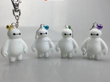 cute platic cow shape toys key chain forgift