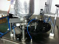 Guangzhou rotary cup filler plastic foil sealer manufacturer