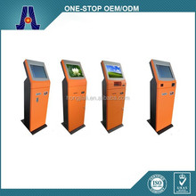 17 inch bill acceptor touch screen terminal payment kiosk for self payment (HJL-35X1)