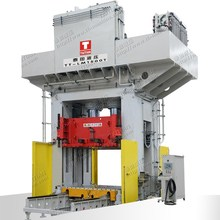 H Frame Type 1500T SMC Compression Moulding Press with Moving Belower Worktable