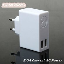 Two USB Mobile Travel Charger DC 5V/2A for iPhone iPad HTC BlackBerry Nokia Samsung Galaxy Sony Ericsson...