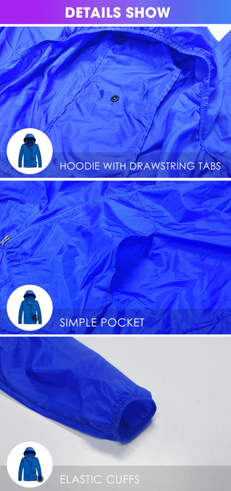 anti uv protective jacket