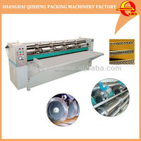 Automatic carton rotary slitting and creasing machine