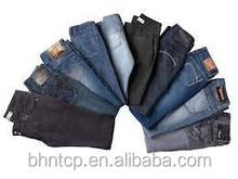 BHNJ820 Mens and Womens Cheap Jeans stock lot available for sale chinese clothing manufacturers
