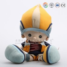 Custom made printed face inflatable doll