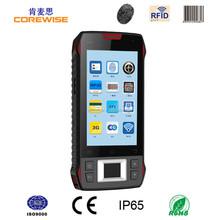 China manufacturer smart phone 4.3 Inch 3G/WIFI/GPS/GPRS/RFID reader/fingerprint sensor/1d 2d bluetooth barcode scanner android