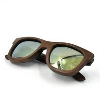 2015 Free Sample New Fashion Cheap Wooden Colorful China Sunglasses