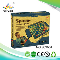 New and hot special design 18 in 1 magnetic board game for wholesale space venture