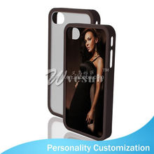 New Arrive Blank 2D Phone Case Cover Sublimation animal sex girl mobile phone case For Iphone 4