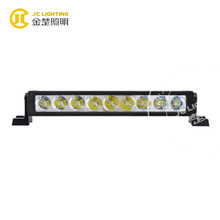 27W 10 inch spot flood beam led bar light high quality Cree led light bar cover with 1 year warranty