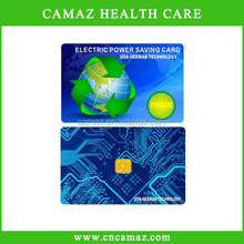 2015 new nano technolog customized electricity saving Card with above 5000cc ions,suitable for home,Office, Industry used