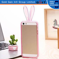 New Arriving Cute Rabbit Bumper Case For IPhone 5S