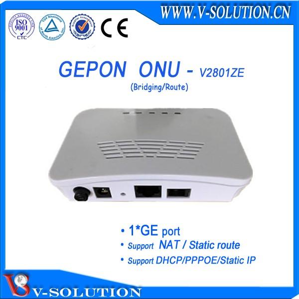8 PON Port EPON OLT avec Automatique Configuration et Gestion