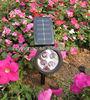 Outdoor off-grid Garden Solar Spot Flood Landscape LED Spotlight Lamp warm white/cool white lamp for options