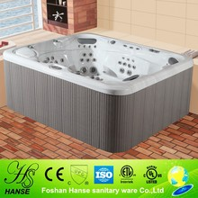 HS-590Y balboa control system 12pcs air bubble jets outdoor whirlpool