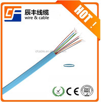 ROHS 8cores phone cord curly cord cable wire