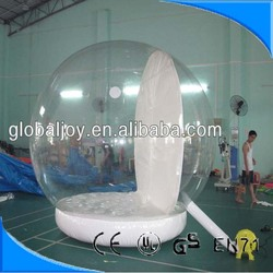Hot selling christmas snow ball/giant christmas inflatable snow globe/christmas snow ball for sale