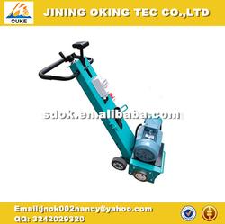 Best choice! OK-200 asphalt milling machine,5.5kw Gasoline floor milling machine,200mm word width scarifying and milling machine