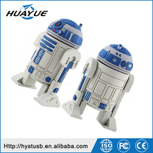 The Top Selling 2GB 4GB 8GB 16GB Star Wars Shape USB Flash Memory With Pen Drive