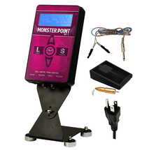 Monster Point Tattoo Power Supply & Wireless Foot Pedal PINK