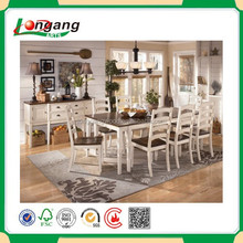 wood plank dining table and wooden furniture