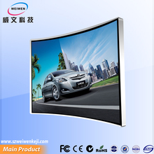 Unique design 49inch visual enjoyment 4k uhd lcd panel curved smart tv