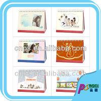 desk calendar 2014 design spiral binding wall calendar