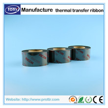 High quality resin wash care ribbon for clothing care label