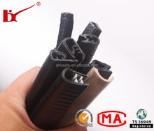 custom all kinds os sharp edge rubber,rubber protection sealing