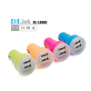 wholesale colorful 5v 3.1a 2 port usb mobile phone universal dual usb mini car charger