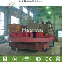 High Qulity Trolley Steel Shot Blasting Machine / Automatic Garnet Blasting Machine(CE)