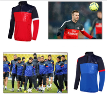 2015 latest design top quality mens soccer tracksuit