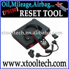 100% Original XTOOL PS150 Oil Reset Tool+ OBDII Scanner+DHL Free shipping+Free update online