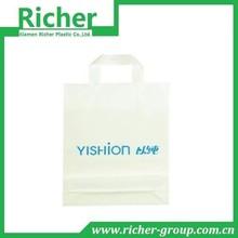 Soft loop handle plastic bag,promotion bag,packing bag
