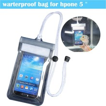 Sports Mobile Phone Dry Stylish Marine Map Beach Bags Waterproof With 3 Protective Chains Pouch Case P5506-11