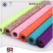 Crystal Sheer Organza Fabric Roll for Wedding Decoration Flower Packing