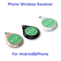 Qi Wireless Charger Receiver Desktop Coffee Table Wireless Charging Station Dock External Receiver For Android Phone iPhone5s 6
