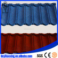 Cheap color metal roof tile/stone coated metal roof tiles with high quality