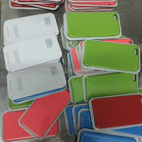 Silicon phone cover for iphone 6/6 plus factory in China