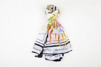 Hot Sell Women's Ladies Chiffon Soft Scarves Long Wraps Shawl Beach Silk Scarf