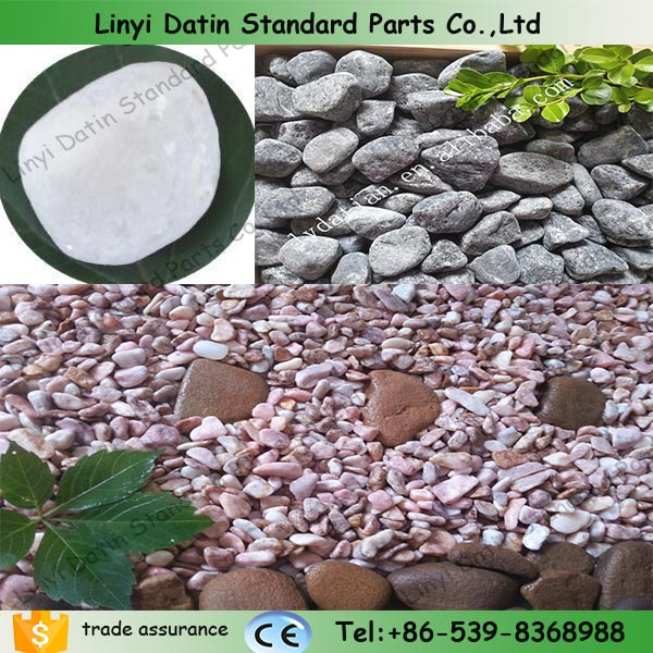 Pink Crushed Stone : Pink color stone landscaping colored crushed natural